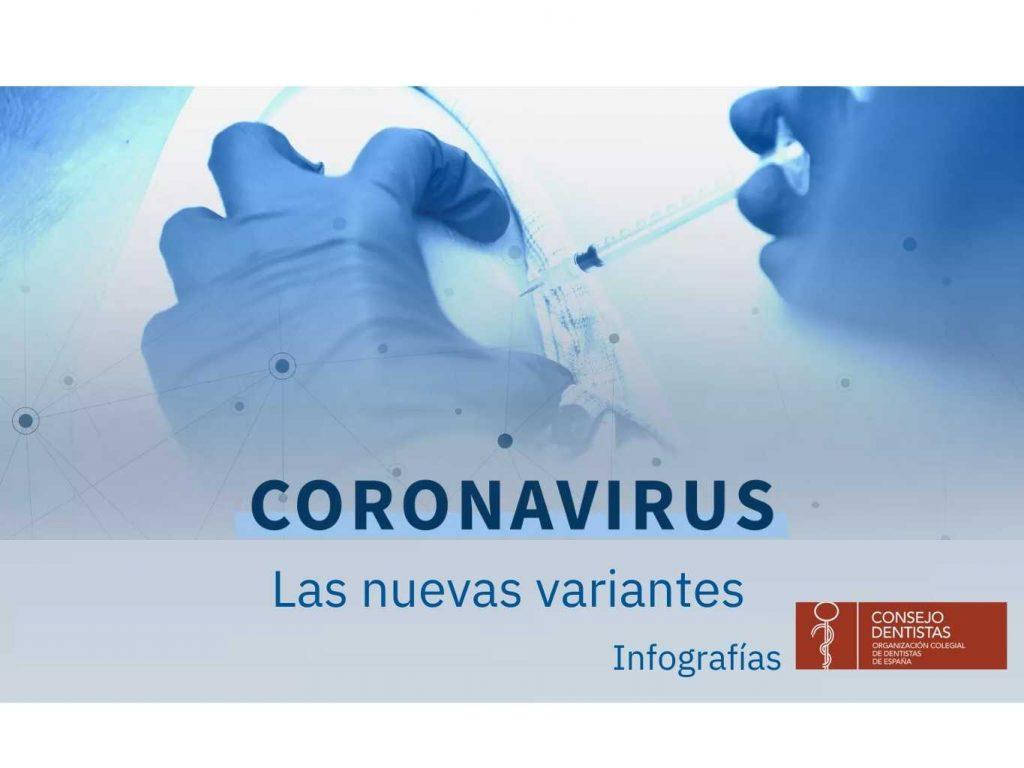 Coronavirus: las nuevas variantes (infografía)